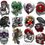 Tattoo Examples from the Series