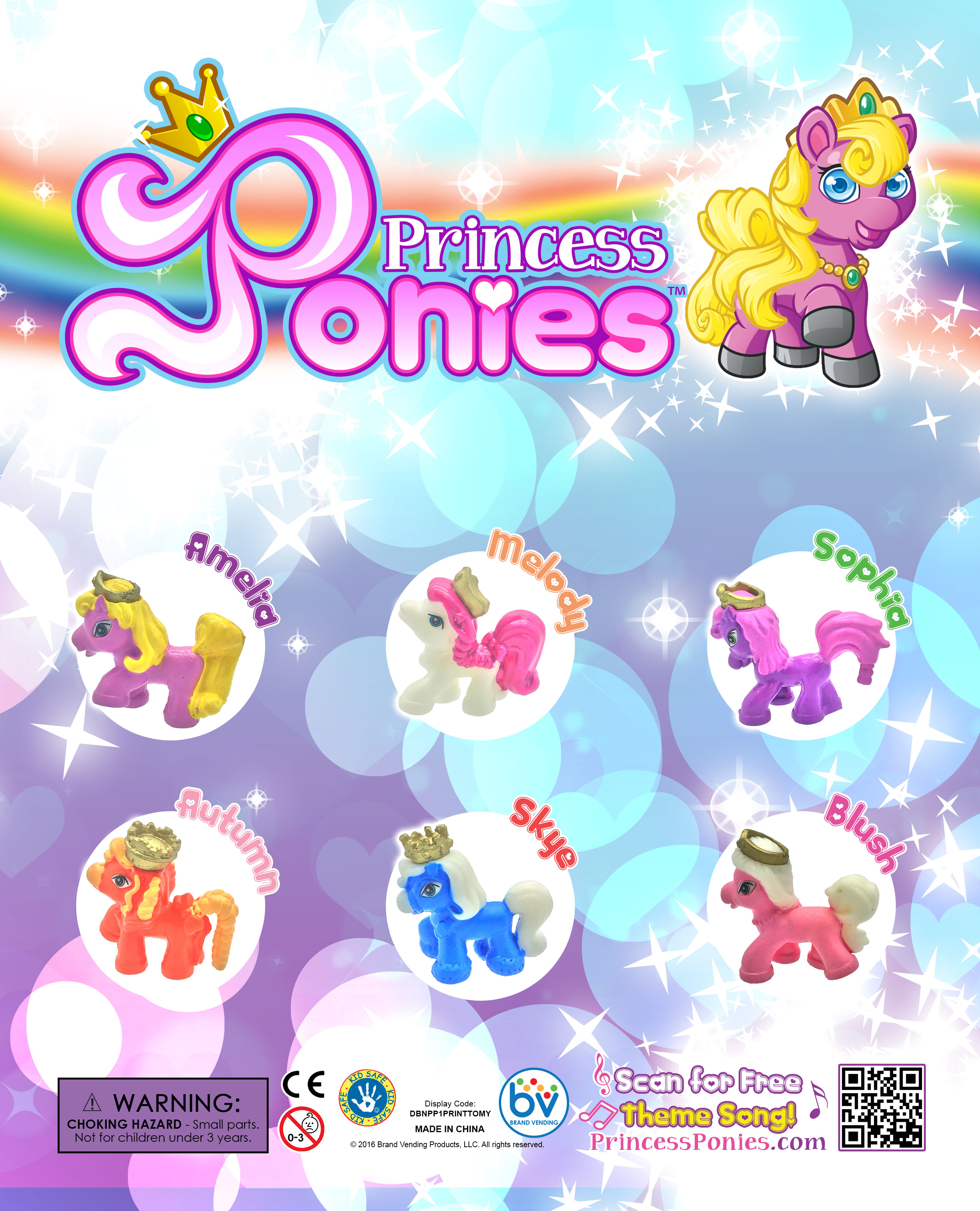 PrincessPoniesTOMYDisplay1