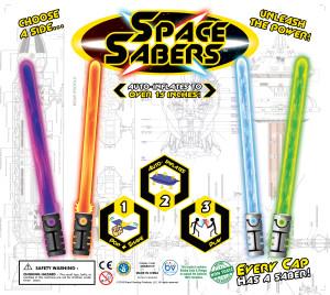 """2"""" Space Saber Display 1"""