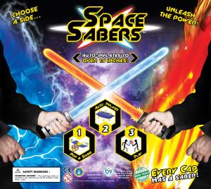 """2"""" Space Saber Display 2"""