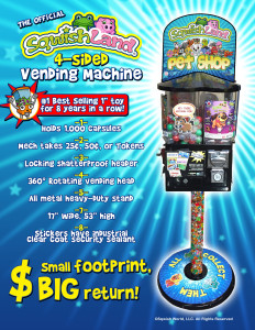 Sqwishland Vending Machine Front