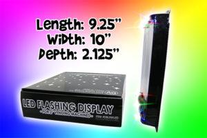 LED Light Display Side Dims